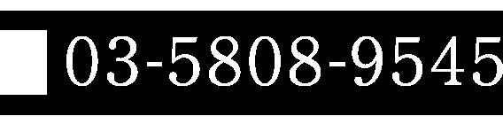 電話番号03-5808-9418